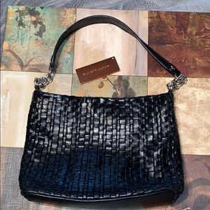Purse Elliott Lucca leather weave